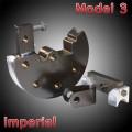 Model 3 Imperial Round Bender Dies