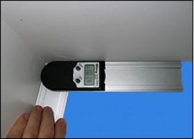 Measure corner angle